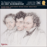 CDJ33036 - Schubert: The Hyperion Schubert Edition, Vol. 36 - Juliane Banse, Lynne Dawson, Michael Schade & Gerald Finley