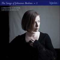 CDJ33122 - Brahms: The Complete Songs, Vol. 2 - Christine Schäfer