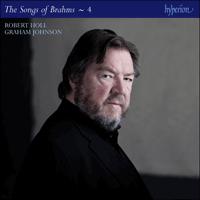 Brahms: The Complete Songs, Vol  4 - Robert Holl - CDJ33124