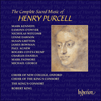 CDS44141/51 - Purcell: The Complete Sacred Music