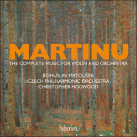 CDS44611/4 - Martinů: The complete music for violin and orchestra