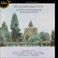 CDH55067 - Britten: Michelangelo Sonnets & Winter Words