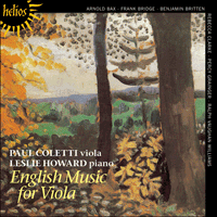 CDH55085 - English Music for Viola
