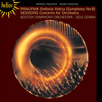 CDH55100 - Panufnik: Symphony No 8; Sessions: Concerto for orchestra