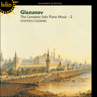 CDH55222 - Glazunov: The Complete Solo Piano Music, Vol. 2
