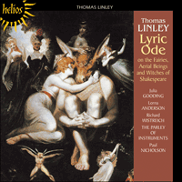 CDH55253 - Linley Jr.: A Lyric Ode on the Fairies, Aerial Beings and Witches of Shakespeare