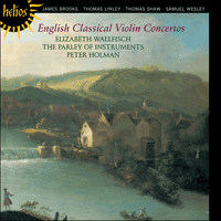 CDH55260 - English Classical Violin Concertos