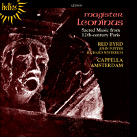 CDH55328 - Léonin 'Magister Leoninus': Magister Leoninus, Vol. 1 - Sacred Music from 12th-century Paris