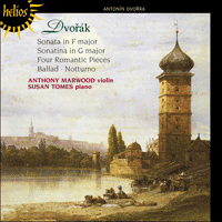 CDH55365 - Dvořák: Music for violin and piano