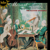 CDH55390 - Mozart: Oboe Quartet, Horn Quintet & other works