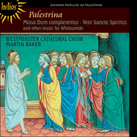 CDH55449 - Palestrina: Missa Dum complerentur & other music for Whitsuntide
