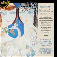 CDH55467 - Stravinsky: Les Noces & other choral works