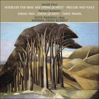 A66109 - Finzi & Berkeley (M): Music for oboe and string quartet