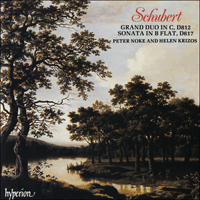 CDA66217 - Schubert: Grand Duo & Sonata in B flat major