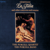 CDA66264 - Geminiani: La Folia & other works
