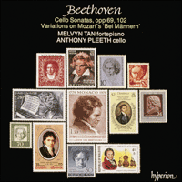 CDA66282 - Beethoven: Complete Cello Music, Vol. 2