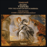 CDA66311/2 - Monteverdi: Vespers for the Feast of Santa Barbara