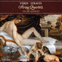 CDA66317 - Verdi & Strauss: String Quartets