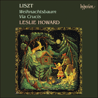 CDA66388 - Liszt: The complete music for solo piano, Vol. 8 - Weihnachtsbaum & Via Crucis