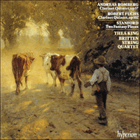 CDA66479 - Romberg (A), Fuchs & Stanford: Clarinet Quintets
