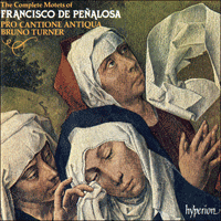 CDA66574 - Peñalosa: The Complete Motets