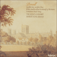 CDA66587 - Purcell: Odes, Vol. 7 - Yorkshire Feast Song