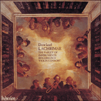CDA66637 - Dowland: Lachrimae, or Seaven Teares