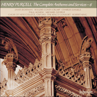 CDA66663 - Purcell: The Complete Anthems and Services, Vol. 6