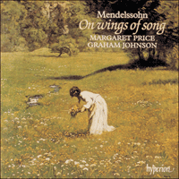 CDA66666 - Mendelssohn: On wings of song