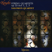 fd95c689e265f2 Haydn: String Quartets Opp 33/1-3 - CDA66681 - Joseph Haydn (1732 ...