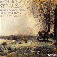 CDA66731/2 - Strauss (R): Complete Music for Winds
