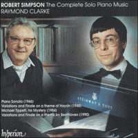 CDA66827 - Simpson: The Complete Solo Piano Music