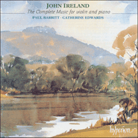 CDA66853 - Ireland: The complete music for violin and piano