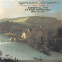 CDA66865 - English Classical Violin Concertos