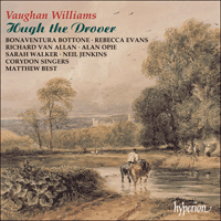 CDA66901/2 - Vaughan Williams: Hugh the Drover