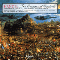 CDA66961/2 - Handel: The Occasional Oratorio