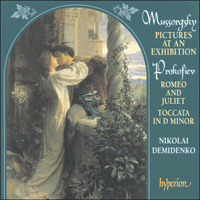 CDA67018 - Musorgsky: Pictures from an exhibition; Prokofiev: Romeo and Juliet