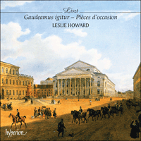 CDA67034 - Liszt: The complete music for solo piano, Vol. 40 - Gaudeamus igitur
