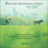 CDA67065 - English Orchestral Songs