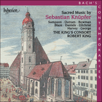 CDA67160 - Knüpfer: Sacred Music