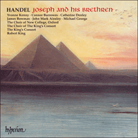 CDA67171/3 - Handel: Joseph and his Brethren