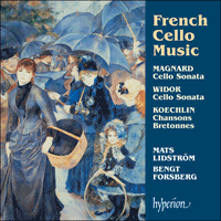 CDA67244 - French Cello Music