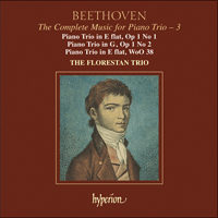 CDA67393 - Beethoven: The Complete Music for Piano Trio, Vol. 3