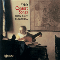CDA67397 - Byrd: Consort Songs