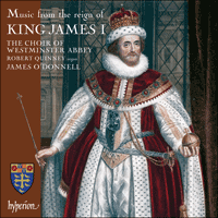 CDA67858 - Music from the reign of King James I