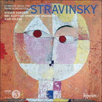 CDA67870 - Stravinsky: Complete music for piano & orchestra