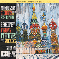 CDA67896 - Musorgsky: Pictures from an Exhibition; Prokofiev: Visions fugitives & Sarcasms
