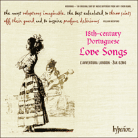 18th Century Portuguese Love Songs Cda67904 Hyperion Records