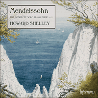 CDA67935 - Mendelssohn: The Complete Solo Piano Music, Vol. 1