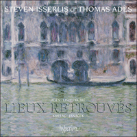 CDA67948 - Lieux retrouvés - Music for cello & piano